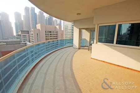 فلیٹ 2 غرفة نوم للايجار في دبي مارينا، دبي - 2 Bedroom | Unfurnished | Chiller Free