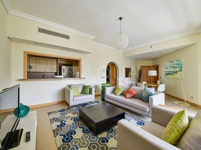 فلیٹ 2 غرفة نوم للايجار في نخلة جميرا، دبي - E Type | Fully Furnished Unit | 4 cheques