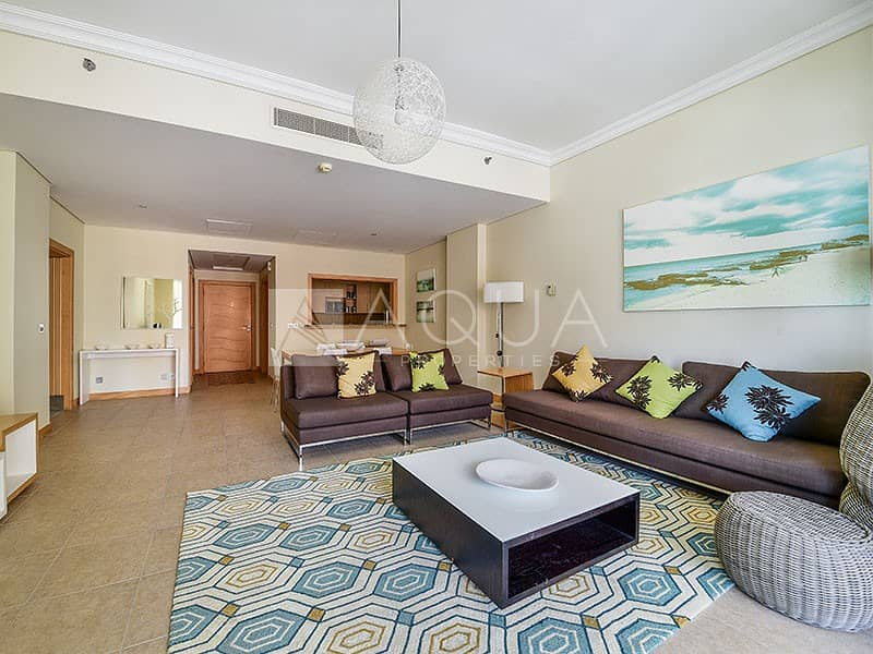 Full Sea View | Fully Furnished | 4 cheques