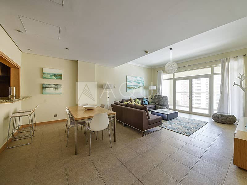 2 Full Sea View | Fully Furnished | 4 cheques