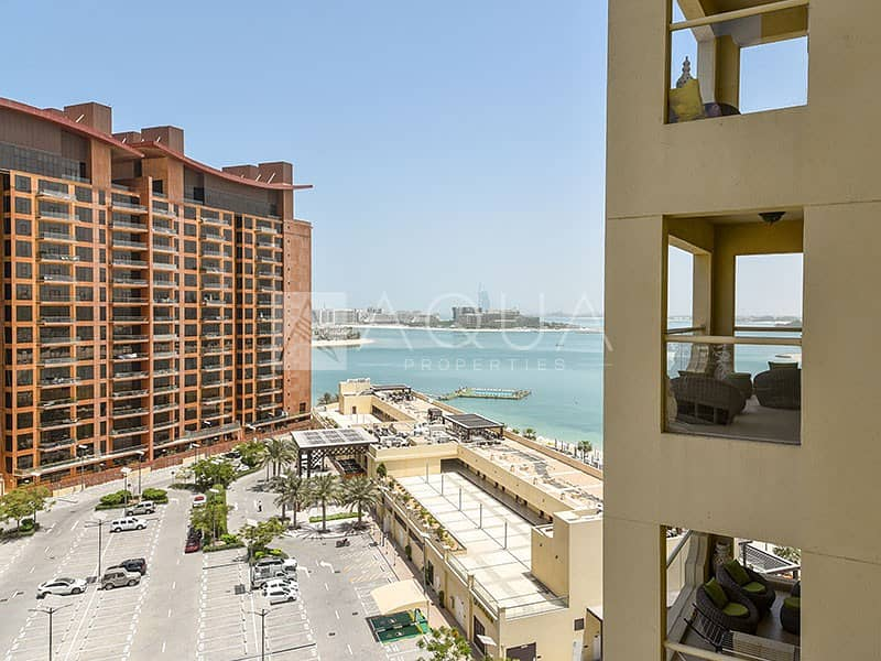 10 Full Sea View | Fully Furnished | 4 cheques