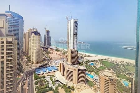 1 Bedroom Flat for Rent in Dubai Marina, Dubai - Exclusive | High Floor 01 Type | Full Sea View