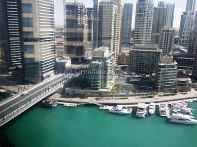 3 Bedroom Apartment for Sale in Dubai Marina, Dubai - Spacious 3BR Maid w/ Full Marina View | Al Sahab 1
