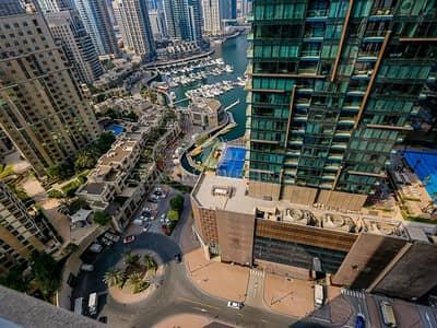 شقة 2 غرفة نوم للبيع في دبي مارينا، دبي - Nice Marina View 2 Bed Vacant on Transfer