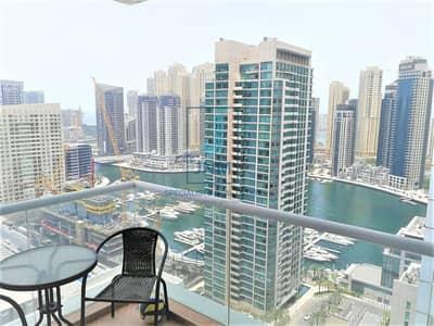 فلیٹ 2 غرفة نوم للايجار في دبي مارينا، دبي - Stunning 2BR I Well-maintained I Fully Furnished
