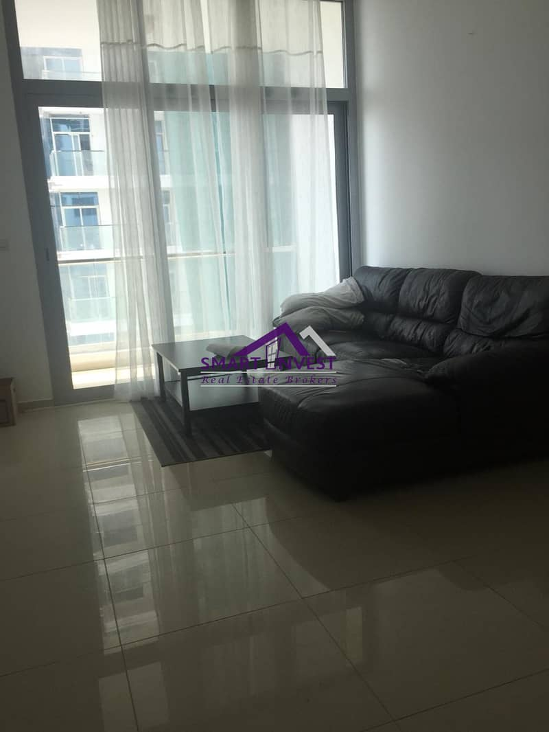 Semi furnish 1 BR apartment for rent in DEC Tower Dubai Marina for AED 60K/yr
