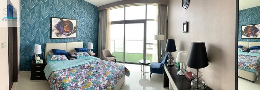 2 Bedroom Flat for Sale in DAMAC Hills (Akoya by DAMAC), Dubai - Furnished |Golf View |Vacant on Transfer| Luxury Type