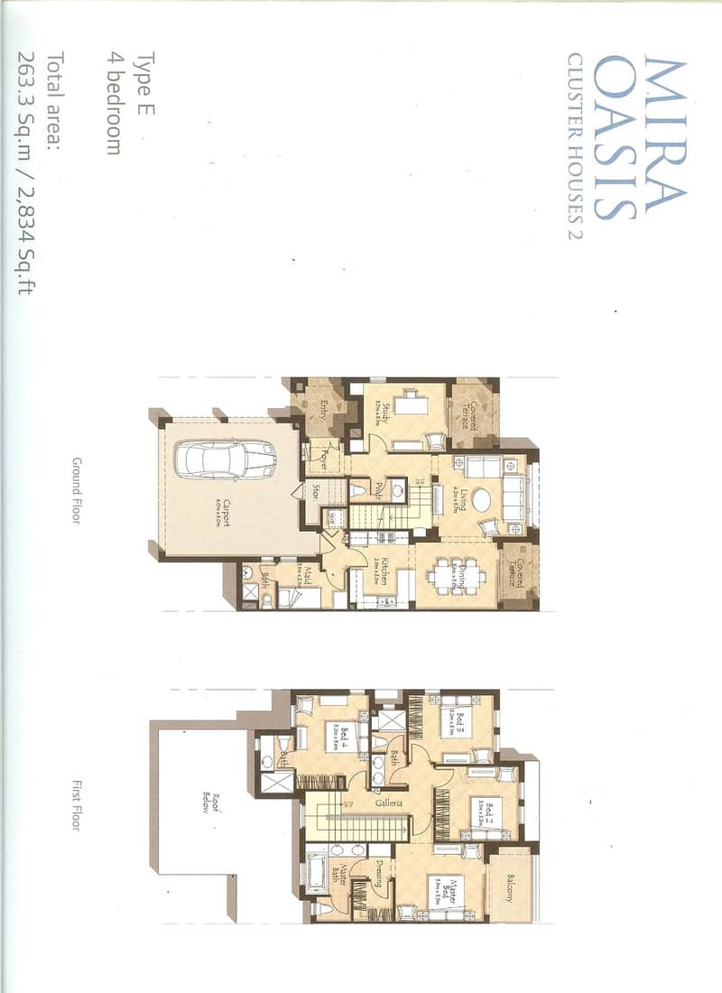 10 4 Bedrooms   Mira Oasis 1   Available Now