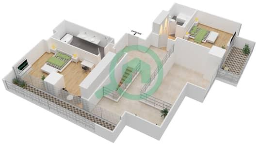 Maze Tower - 3 Beds Apartments unit 2 Floor plan