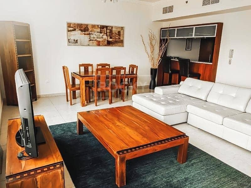 Fully Furnished|1 Bed| Full Marina view|Al Sahab 2