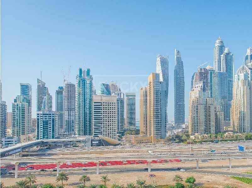 11 Fully Furnished|1 Bed| Full Marina view|Al Sahab 2