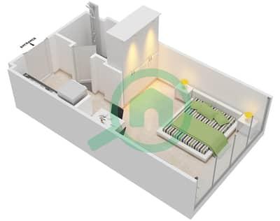 المخططات الطابقية لتصميم النموذج 1 شقة  - عزيزي أورا