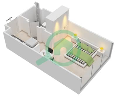 المخططات الطابقية لتصميم النموذج 2 شقة  - عزيزي أورا