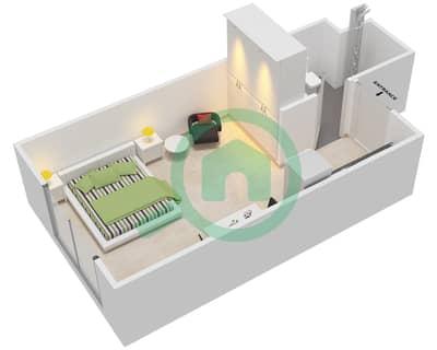 المخططات الطابقية لتصميم النموذج 4 شقة  - عزيزي أورا