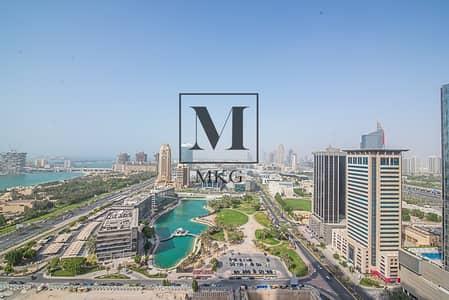2 Bedroom Flat for Rent in Dubai Marina, Dubai - Sea View | Large 2BR Plus M |Call Us Now