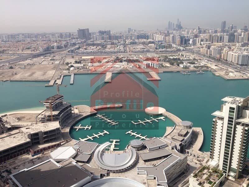 2 VIP Penthouse for rent in Marina Heights Reem Island