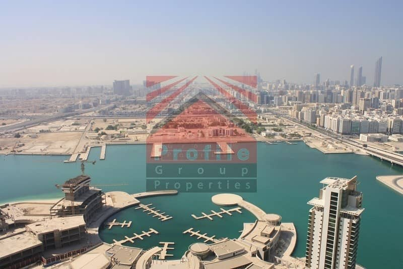 2 Spectacular Full sea View one BR for Rent in Al Reem