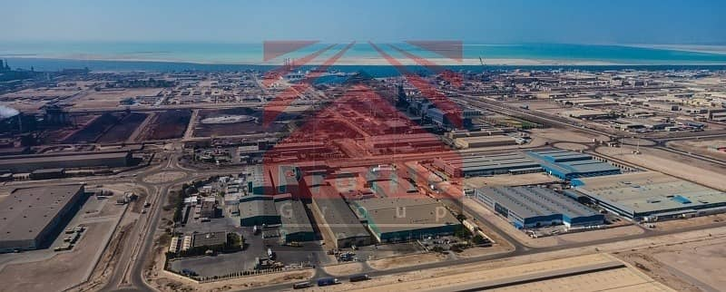 Land For Rent in Mussafah Industrial City