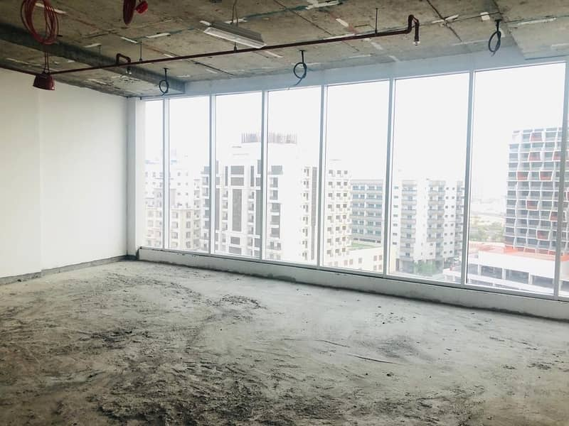 1 brand new 900 sqft offices for rent in lynx tower silicon oasis in 40000