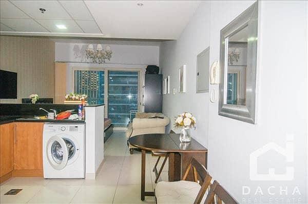 2 Best Value/ furnished Studio/ Break taking Marina View