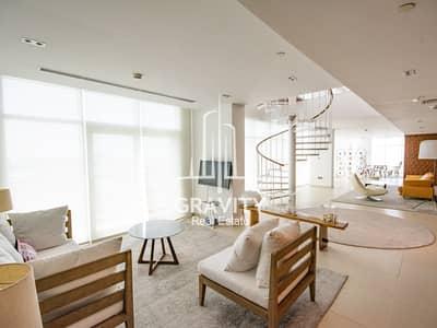 بنتهاوس 4 غرفة نوم للايجار في شاطئ الراحة، أبوظبي - بنتهاوس في مساكن النسيم C النسیم البندر شاطئ الراحة 4 غرف 265000 درهم - 4248369