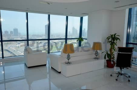 مکتب  للبيع في أبراج بحيرات جميرا، دبي - Fitted|High End Finishing|Spectacular View