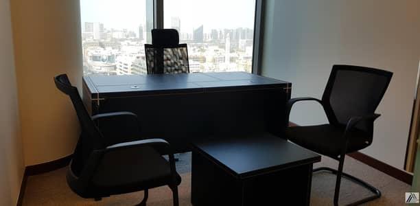 مکتب  للايجار في بر دبي، دبي - Brand New Fitted Office Space -Linked with Burjuman Mall  And Metro