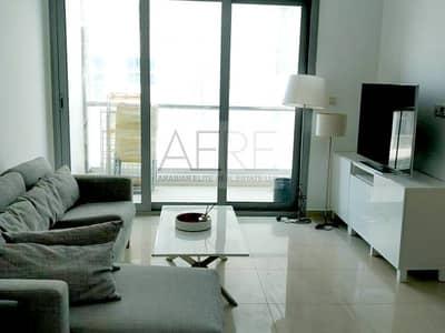 شقة 1 غرفة نوم للايجار في دبي مارينا، دبي - Upgraded Furnished w/ Sea and Partial Marina View