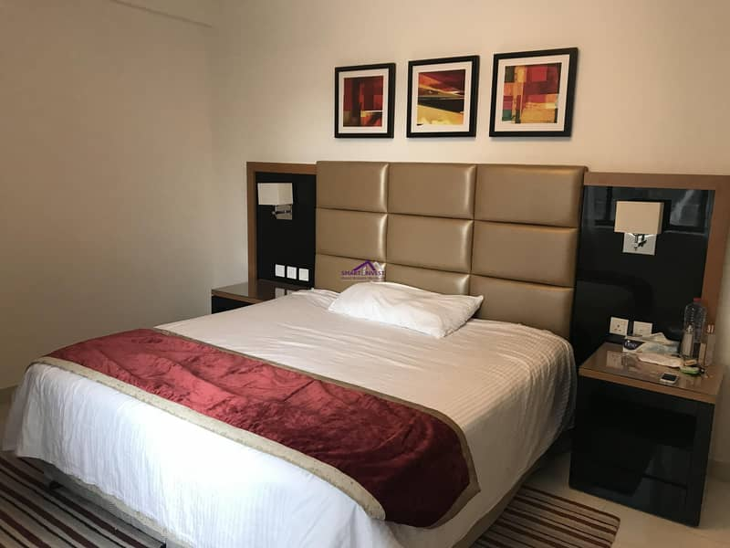 Fully furnished 1 BR Apartment  for rent in Capital Bay for 75K/yr