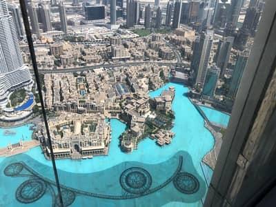 1 Bedroom Flat for Rent in Downtown Dubai, Dubai - High Floor!Full Fountain View 1BR | Burj Khalifa