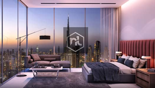 1 Bedroom Apartment for Sale in Business Bay, Dubai - Premium Class One Bedroom with Burj - Khalifa View