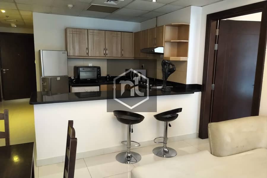 2 FULLY FURNISHED | 1 BED ROOM | BALCONY AND PARKING | ELITE 3 | SPORTS CITY