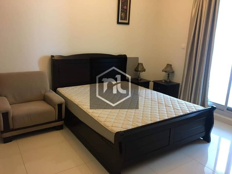 15 FULLY FURNISHED | 1 BED ROOM | BALCONY AND PARKING | ELITE 3 | SPORTS CITY