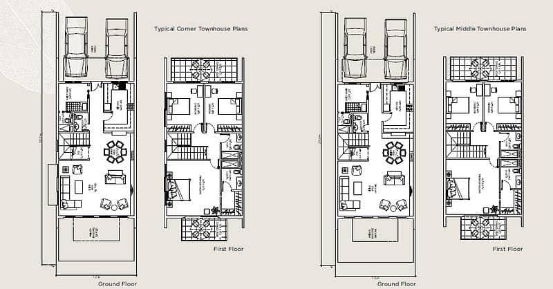 12 Excellent   3BR+Maid Room Villa For Sale In Warsan Village Only 1.34M