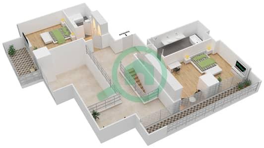 Maze Tower - 3 Beds Apartments unit 3 Floor plan