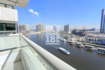 3 Bedroom Apartment for Sale in Business Bay, Dubai - Fully Furnished | Amazing Full Canal View