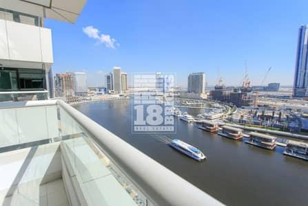 شقة 3 غرف نوم للبيع في الخليج التجاري، دبي - Fully Furnished | Amazing Full Canal View
