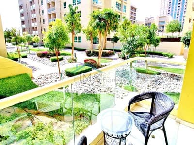 1 Bedroom Flat for Sale in The Greens, Dubai - Furnished | 1 Bed | Upgraded | Corner Unit