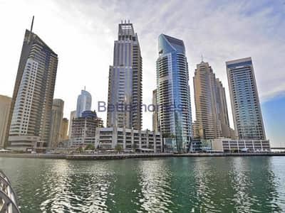 1 Bedroom Flat for Rent in Dubai Marina, Dubai - Marina Terrace  | Low Floor | Full Marina View