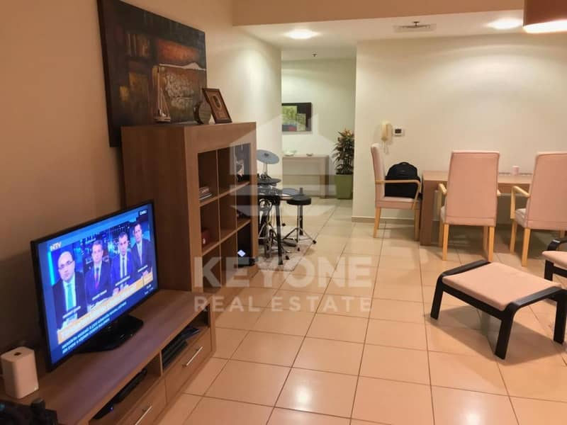 Shams 1 | Fully Furnished 1BR | Vacant Now