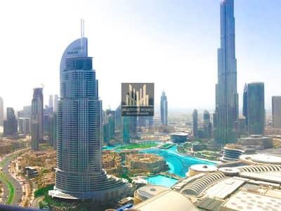 فلیٹ 2 غرفة نوم للايجار في وسط مدينة دبي، دبي - Best Layout Apartment with Best View in Heart of Downtown