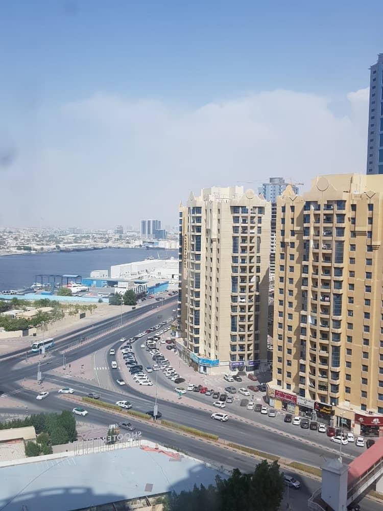 BIGGEST !! 1 BHK SEA VIEW BEAUTIFUL SPACIOUS AL KHOR TOWER PERFECT DEAL