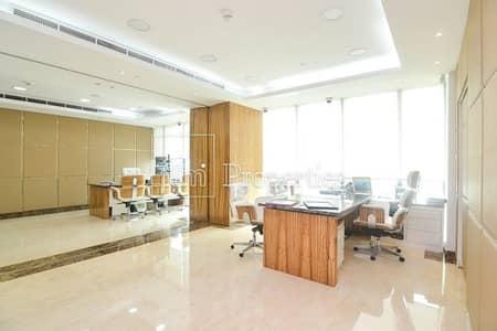 مکتب  للبيع في أبراج بحيرات جميرا، دبي - Fitted Office | High Quality Fit Out | Almas Tower