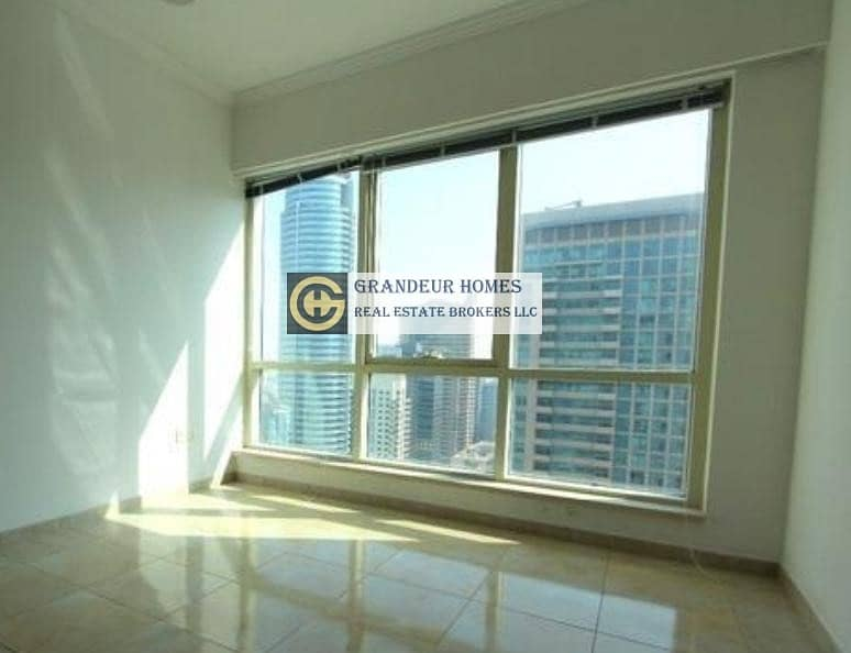 2 Exclusive 3br Study High Floor 100% Marina View in al majara 1