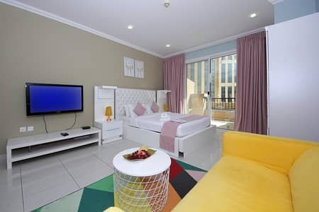 Studio for Rent in Dubai Silicon Oasis, Dubai - Terrific Studio at Spring Tower DSO