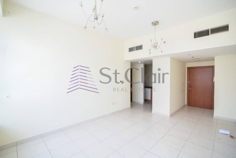 Fully Furnished 1 Bed | Marina View | Mid Floor