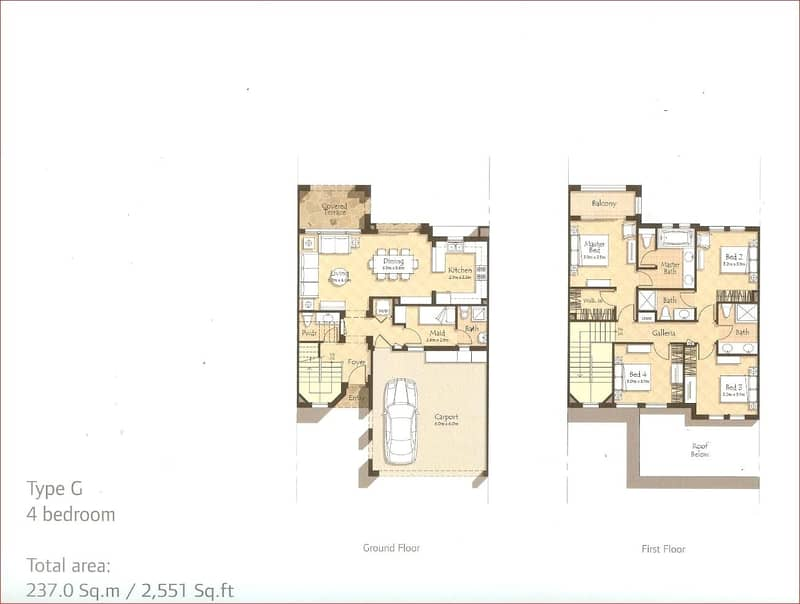 10 4 Beds Upstairs | Maids | Open Plan Living