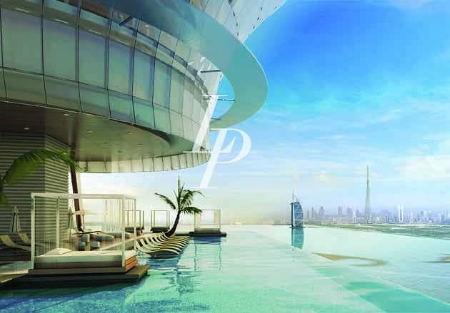 1 Bed Apartment in The Palm Tower with Spectacular Views