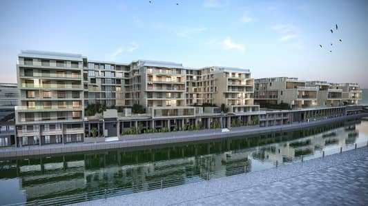 1 Bedroom Apartment for Sale in Masdar City, Abu Dhabi - Zero Down payment pay only 1% per month
