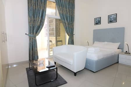 Studio for Rent in Dubailand, Dubai - Fully Furnished Studio Apartment in Madison Residences (8)- Majan